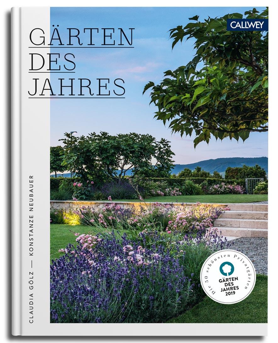Gärten des Jahres 2019, Callwey-Verlag, Cover