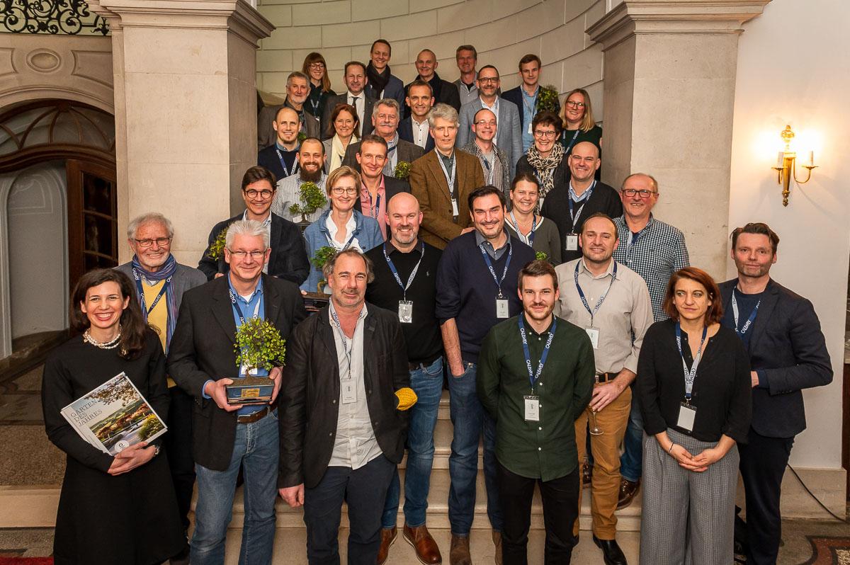 Gruppe der Preisträger für Gärten des Jahres 2020, Schloss Dyck
