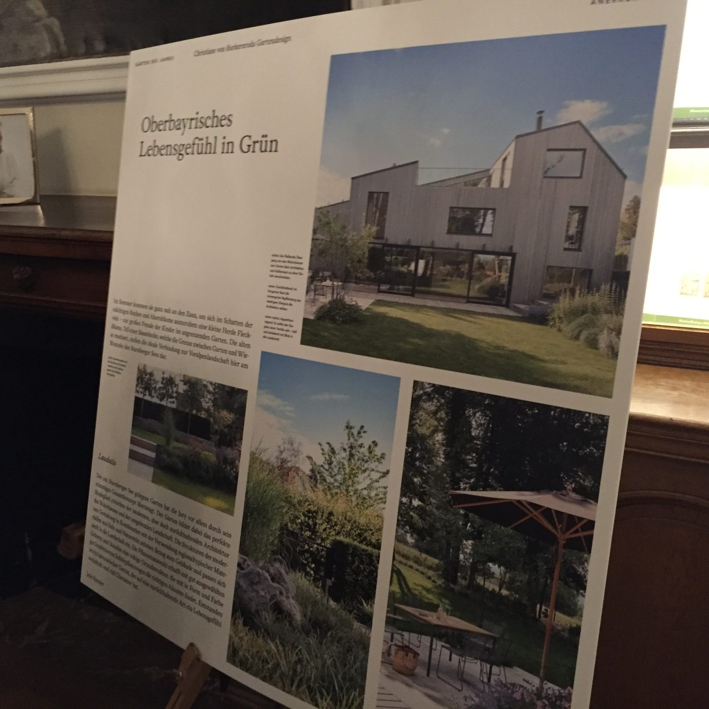 Präsentation der Ausstellung Gärten des Jahres 2020 auf Schloss Dyck in Jüchen.
